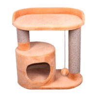 Домик с колонной овальный